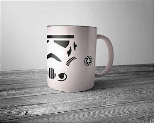 Caneca Star Wars Stormtrooper - Interior Preto