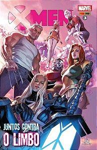X-Men - Juntos Contra o Limbo -Edição 3