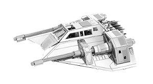 Rebel Snowspeeder Star Wars - 3D Metal Model - Quebra Cabeça 3D