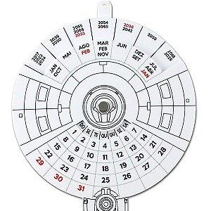 Calendário Enterprise - Star Trek