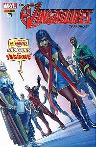 Os Vingadores - Edição 5 - Vá Embora, Ms. Marvel. Você Não é Mais uma Vingadora!