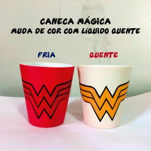 Canéca Mágica - Mulher Maravilha (Wonder Woman)
