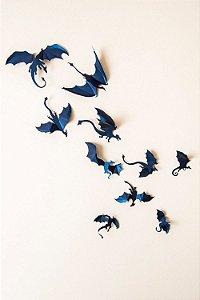 Adesivo 3D Dragão - Inspirado em Game of Thrones