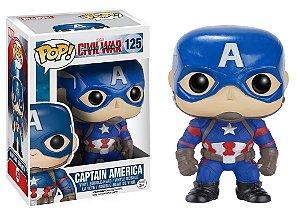 Funko Pop! Capitão América - Guerra Civil