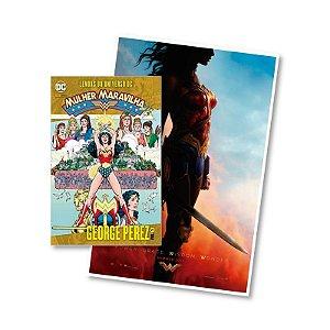 KIT - Lendas do Universo DC: Mulher Maravilha - Volume 1 + Pôster do Filme