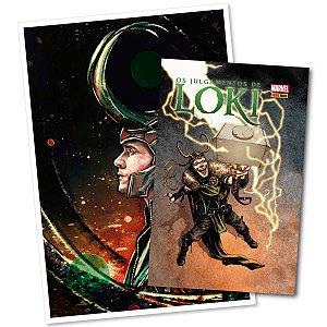 KIT - Os Julgamentos De Loki (HQ) e Pôster