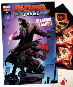 KIT - Deadpool Vs Gambit - HQ e Baralho