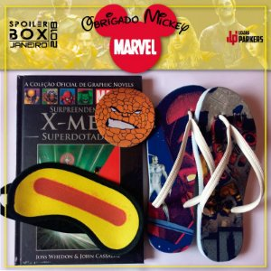 Spoiler Box Marvel - Obrigado Mickey - limitadas
