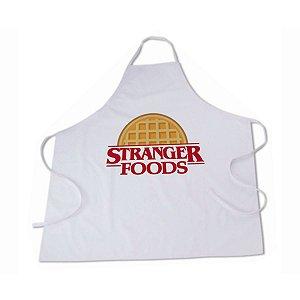 Avental Stranger Foods Unissex