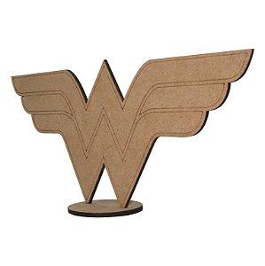 Wonder Woman Símbolo - Colecionável em MDF - Item Spoiler Box