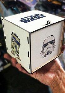 Star Wars - Caixa Porta Trecos / Porta Canecas de MDF