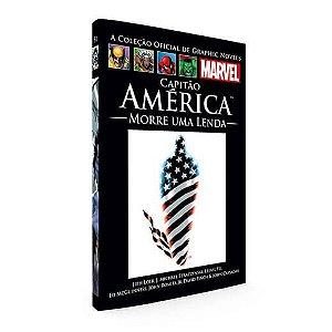 Capitão América - Morre Uma Lenda - Graphic Novels Marvel Ed. 32