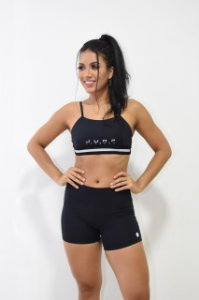 Conjunto de top e short