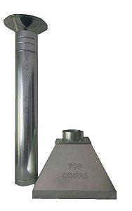 Coifa med. 3,00m c/ Tubulação
