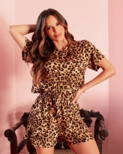 Baby Doll Nicky (Animal Print)