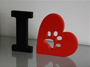 I Love Pets MDF
