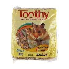 Toothy - Alimento completo para Hamster e Porquinho da India 500g