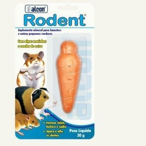 Suplemento Mineral Alcon Rodent para Hamster