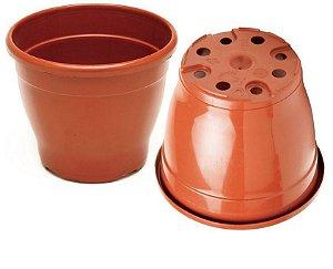 Kit C/3 Vasos Plástico Pote 19 CM Classic