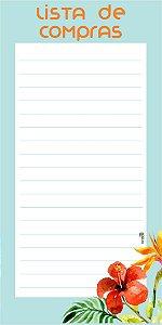 Lista de Compras Floral