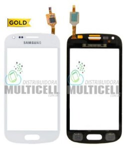 TELA TOUCH SCREEN SAMSUNG S7560 S7562 GALAXY S DUOS BRANCA 1ªLINHA AAA GOLD
