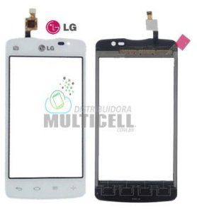 TELA TOUCH SCREEN LG D225 D227 L50 BRANCO 100% ORIGINAL