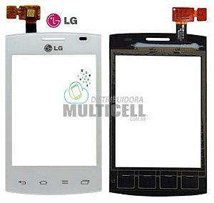 TELA TOUCH SCREEN LG E410 E415 L1 II DUAL BRANCO 100% ORIGINAL