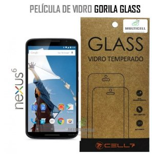 PELICULA DE VIDRO DIAMANT MOT NEXUS 6 XT1100/XT1106 GORILA GLASS
