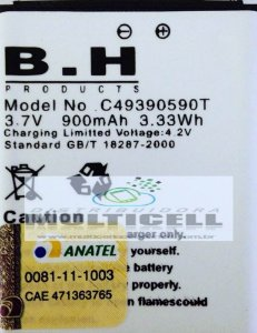 BATERIA BLU SPARK S120/S130 900mAh C49390590T 1ªLINHA