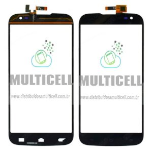 TELA TOUCH SCREEN BLU D650/D650a/D650i/D651/D651i/D651L BLU STUDIO 6.0 HD PRETO ORIGINAL