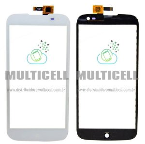 TELA TOUCH SCREEN BLU D650/D650a/D650i/D651/D651i/D651L BLU STUDIO 6.0 HD BRANCO ORIGINAL