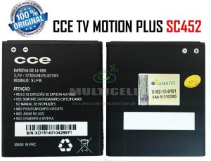 BATERIA CCE SC452 TV MOTION PLUS 1730mAh SLFW ORIGINAL