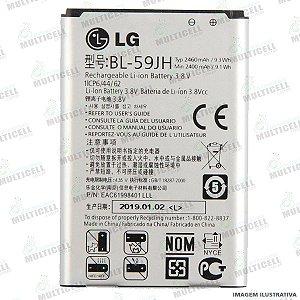 BATERIA LG BL-59JH P710 P711 P714 P716 L7 2 DUAL 1ªLINHA (QUALIDADE AAA)