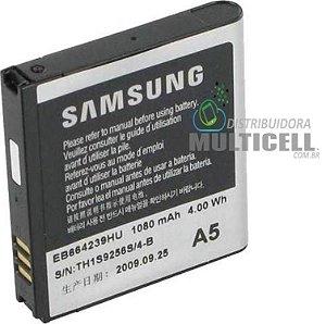 BATERIA SAMSUNG S8000 S7550 S5200 S5530 EB664239HU 1ªLINHA