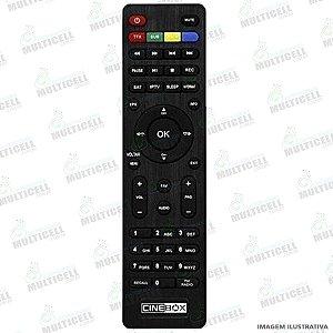 CONTROLE AZBOX CINE BOX HD / GIGA BOX S1000 RECEPTOR DIGITAL SKY-7500 FBG-7500