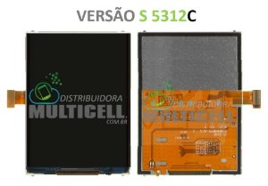 DISPLAY LCD SAMSUNG S5312C GALAXY POCKET NEO 1ªLINHA