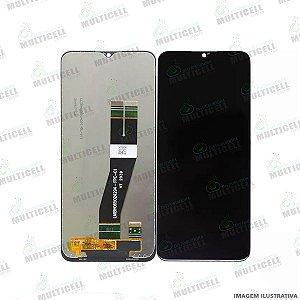 GABINETE FRONTAL DISPLAY LCD MODULO COMPLETO SAMSUNG A025 GALAXY A02S ORIGINAL IMPORTADO