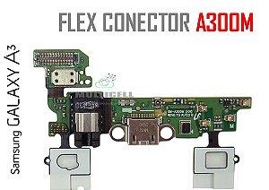 FLEX DOCK USB CONECTOR DE CARGA USB SAMSUNG A300M GALAXY A3 COMPLETO ORIGINAL