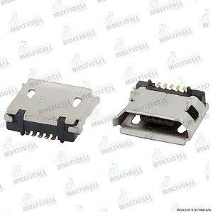 CONECTOR USB DOCK DE CARGA PARA TABLET E CELULARES MODELO UNIVERSAL GVF3 (5 TRILHAS 1 BASE)