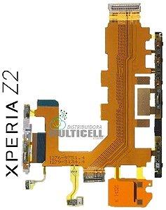 FLEX POWER VOLUME MICROFONE SONY D6502 D6503 D6543 L50W XPERIA Z2 ORIGINAL