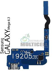 FLEX DOCK CONECTOR DE CARGA SAMSUNG  I9200 I9205 GALAXY MEGA 6.3' 1ªLINHA