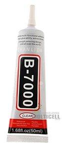 COLA TRANSPARENTE MULTIUSO B7000 B-7000 B 7000 PARA REPARO DE TELA TOUCH SCRENN CELULAR E TABLET 50ml