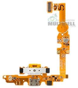 FLEX DOCK CONECTOR DE CARGA E MICROFONE LG E460 L5 II 1ªLINHA