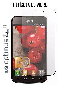 PELICULA DE VIDRO LG E455 OPTIMUS L5 II 2,5mm