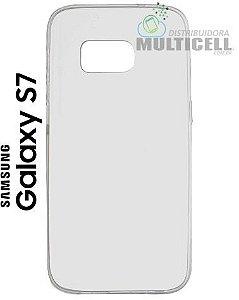CAPA SILICONE 100% TRANSPARENTE G930 SAMSUNG GALAXY S7