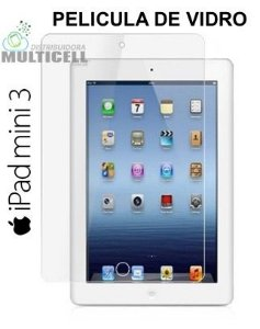 PELICULA DE VIDRO APPLE IPAD MINI 3  2,5mm