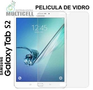 PELICULA DE VIDRO SAMSUNG T810 T815 GALAXY TAB S2  9,7 POLEGADAS  3,0mm