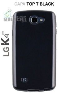 CAPA TPU CASE SILICONE TOP T BLACK K120 K130 LG K4