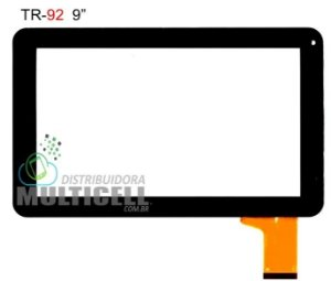 TELA TOUCH SCREEN CCE TR92 MOTION HOLD 9' PRETO ORIGINAL