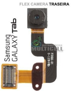 "FLEX CAMERA TRASEIRA SAMSUNG P3100 P3110 GALAXY TAB 7"" ORIGINAL"